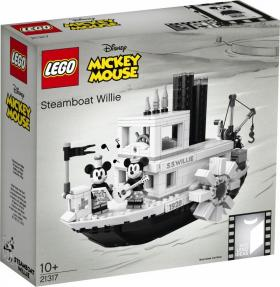 LEGO Mickey Mouse Steamboat Wille 21317